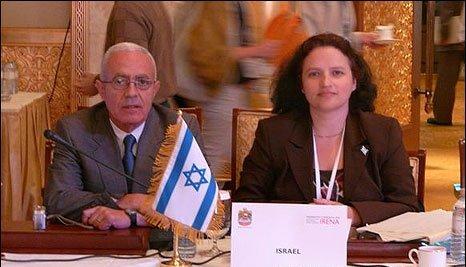 Izzy delegates at IRENA