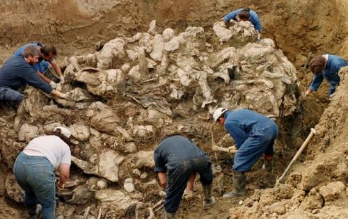 Mass Grave Srebrenica