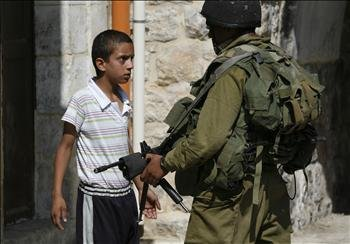 Palestinian Child Stands Up To IDF