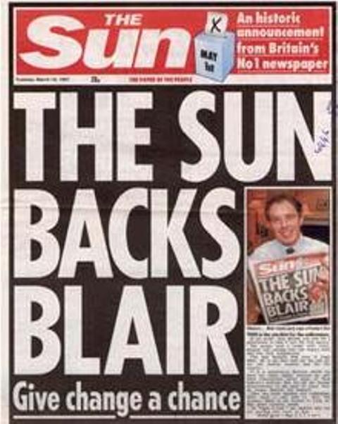 The-Sun-backs blair 1997
