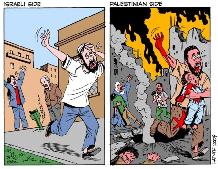 Israeli Palestinian sides