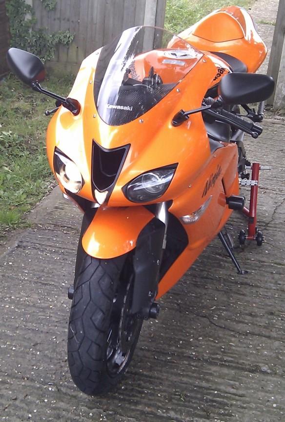 My Motorbike Is For Sale 2007 Kawasaki Ninja Zx6r Wildfire