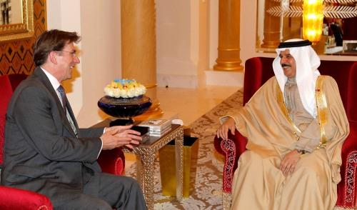 Iain Lindsay UK Ambassador to Bahrain