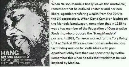 hang mandela poster conservative party uk