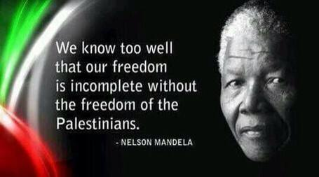 Mandela Palestine quote